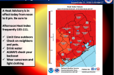HEAT WARNING CONTINUES