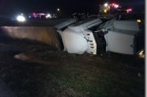 18-WHEELER CRASH ON I-45