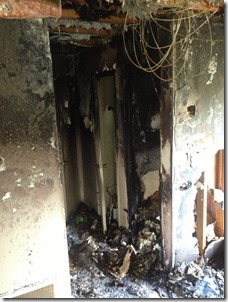 Apartment Fire Shows Value of Smoke Detectors