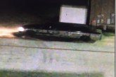 BURGLARY AT TEXAS TRUCK WORKS BY A CAMMO LIMO