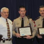 Cpl. Aaron Sumrall and Deputy Kevin Williams