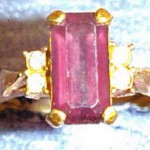 AMETHYST DOE RING 2