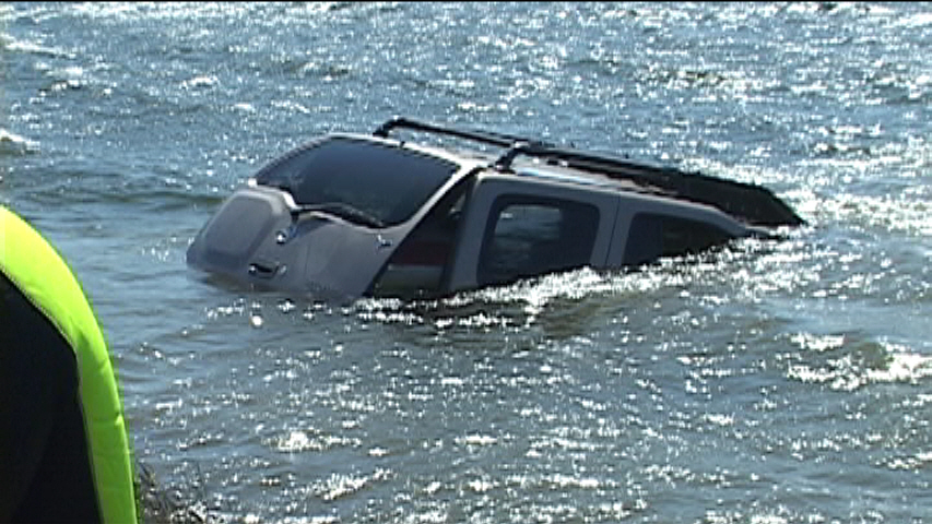 car in lake 3