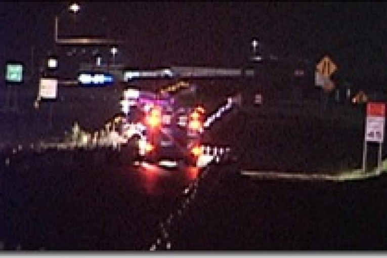 ONE DEAD IN FREEWAY ACCIDENT