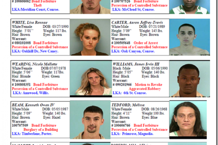 FEATURED FELONS WANTED BY CRIME STOPPERS