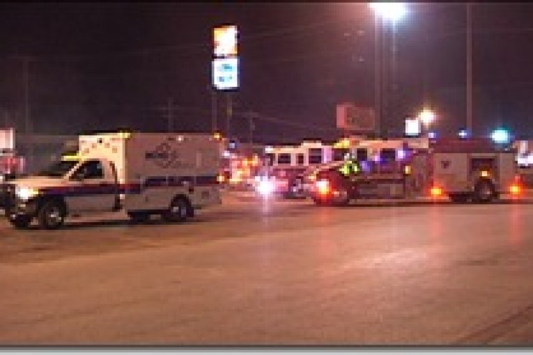 DELIVERY DRIVER FINDS FIRE AT PORTER ARBYS