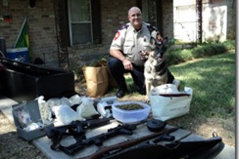 MAJOR DRUG AND WEAPONS BUST IN THE WOODLANDS AREA