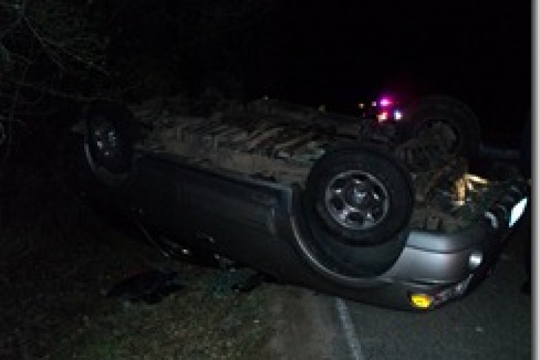 ROLLOVER ON CRIGHTON ROAD