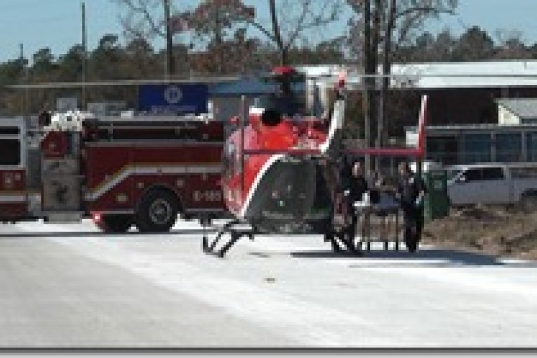 MAN FATAL AFTER PURSUIT-BABY STABLE AFTER BEING FLOWN TO HOUSTON BY LIFE FLIGHT