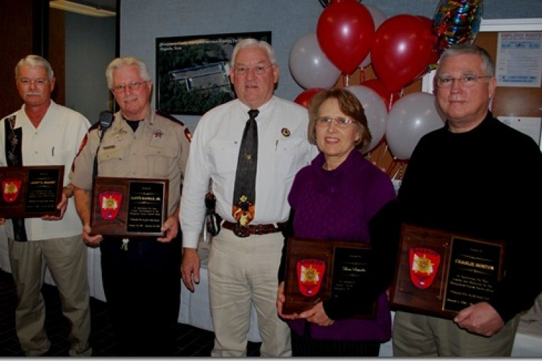 FOUR RETIRE FROM MONTGOMERY COUNY SHERIFF'S OFFICE