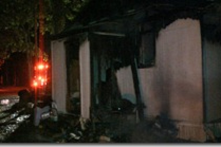 NEW CANEY HOUSE FIRE