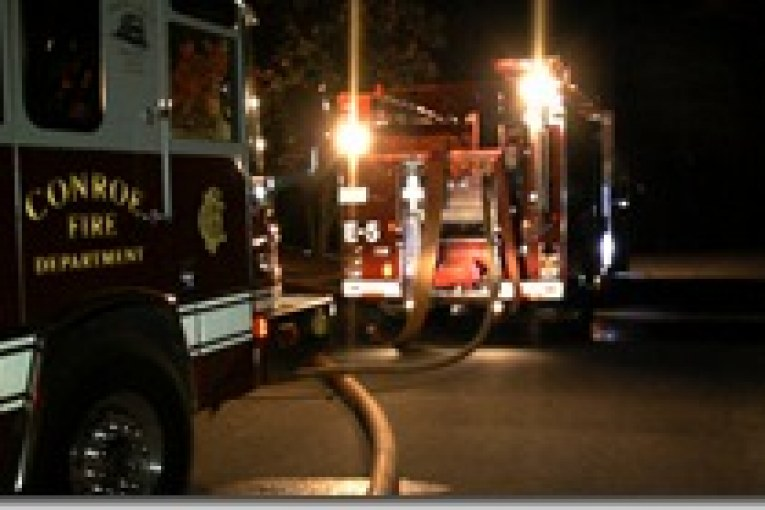 TWO ALARM FIRE DESTROYS CONROE HOME