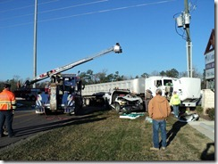 MAJOR ACCIDENT CLOSES US 59 FEEDER IN PORTER