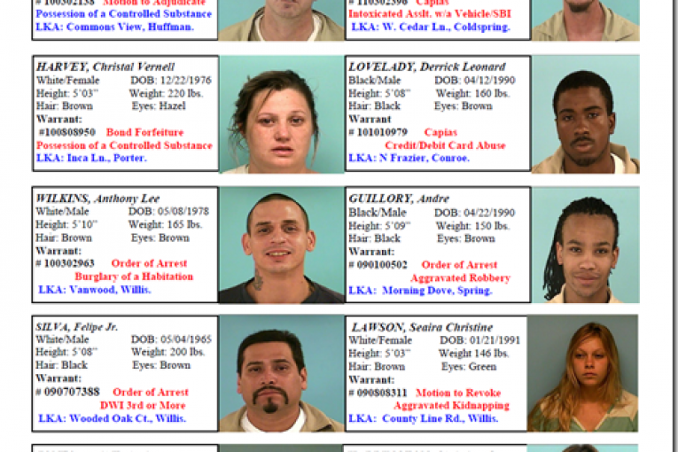MOST WANTED FOR MARCH 18, 2011