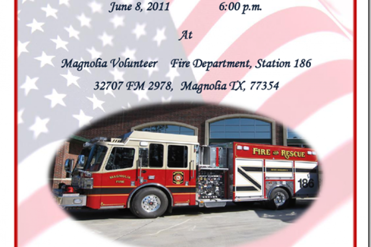 MAGNOLIA FD HAS WILL PUT NEW FIRE TRUCK IN-SERVICE-YOUR INVITED