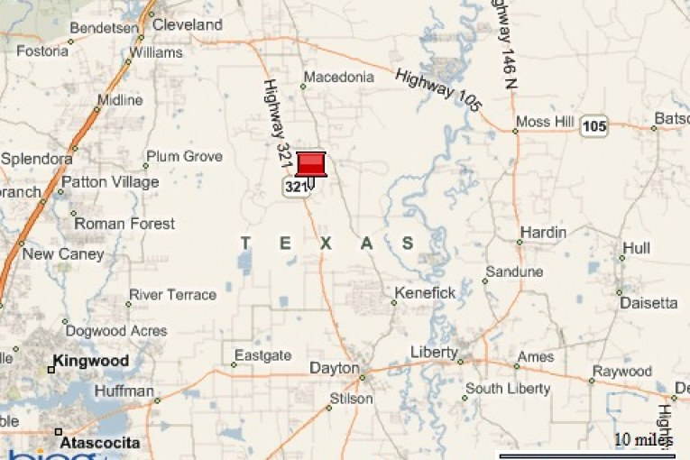 77 acres burn in liberty county