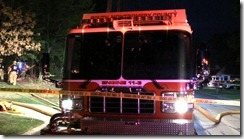 HOUSE FIRE TAKES ITS TOLL ON FIREFIGHTERS
