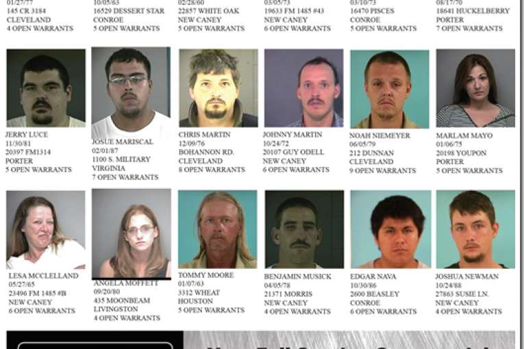 MC PCT 4 FEATURED FUGITIVES FOR JULY 12, 2011