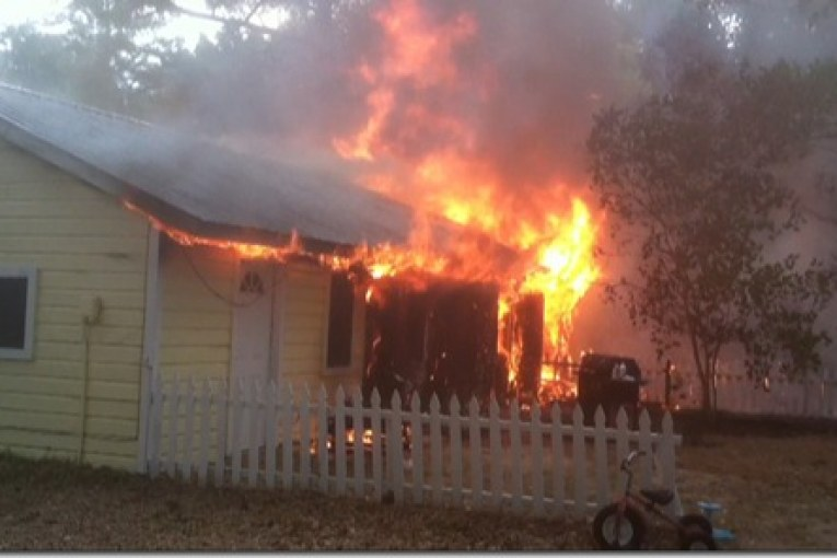 Fire Destroys EMC Home, Leaves Family of Five with Nothing