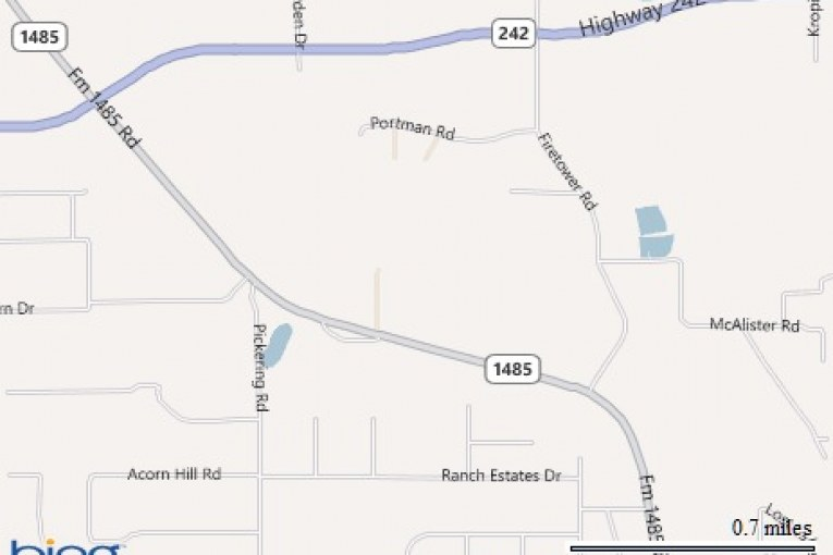 fm 1485 closed due to fatal accident