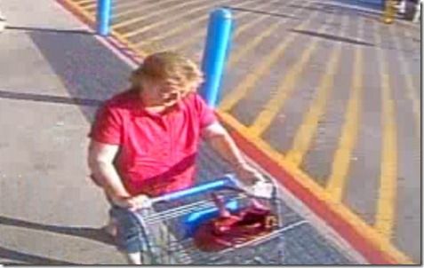 identity needed of woman involved in credit card fraud in splendora