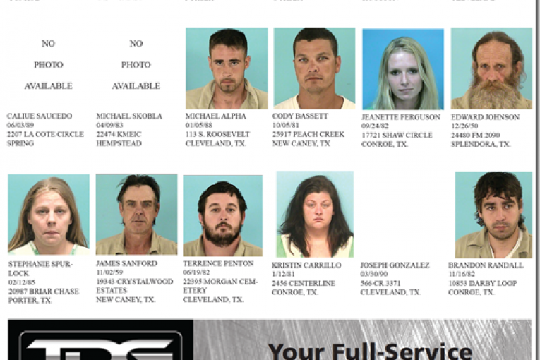 THIS WEEKS PRECINCT 4 FEATURED FUGITIVES