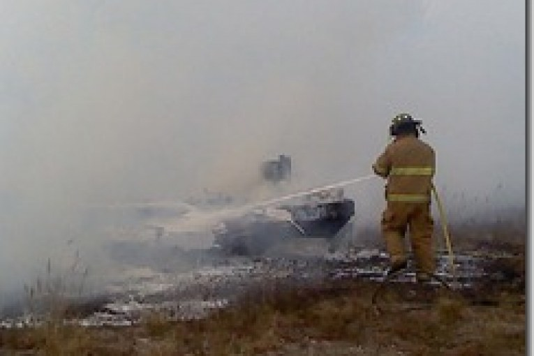 LIBERTY COUNTY DROPPING OF BURN BAN KEEPS FIRE FIGHTERS BUSY