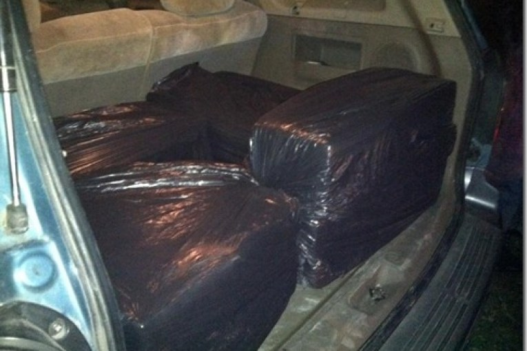 PURSUIT ENDS IN HOUSTON WITH OVER 200 POUNDS OF MARIJUANA