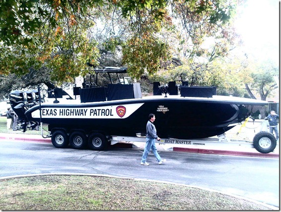 DPS ADDS BOATS TO THE FLEET-GUNBOATS