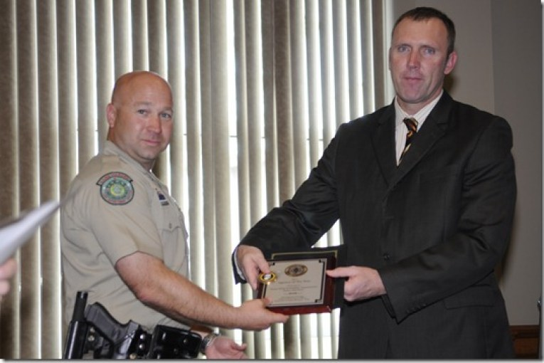 MONTGOMERY COUNTY DISTRICT ATTORNEY HONORS OFFICERS FOR DWI ENFORCEMENT EFFORT