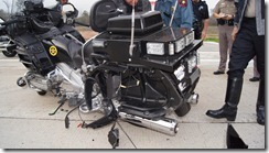 OFFICERS TRANSPORTED AFTER MOTORCYCLE CRASH