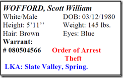 MONTGOMERY COUNTY FEATURED FUGITIVES FOR 2/17/12