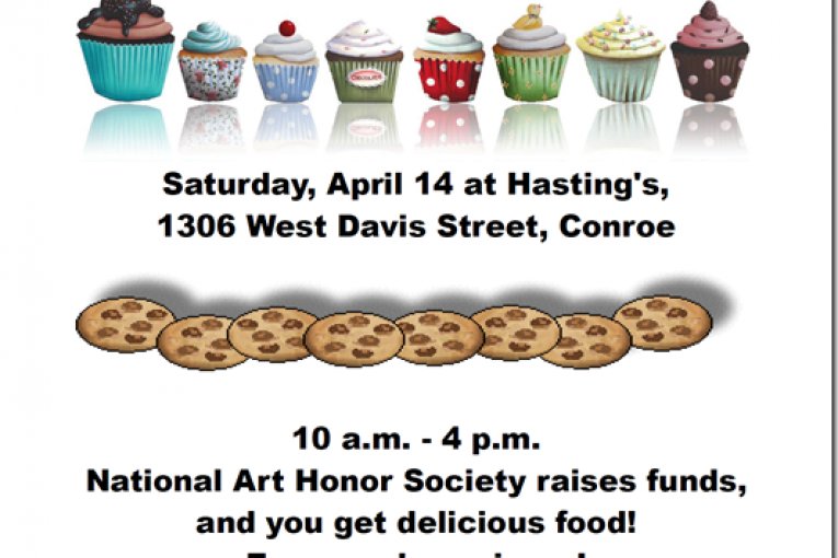 Get Some Sweet Treats Saturday to Support CCHS's National Art Honor Society