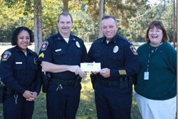 CLEVELAND ISD POLICE RECEIVE $52,000 GRANT FROM 100 CLUB OF HOUSTON