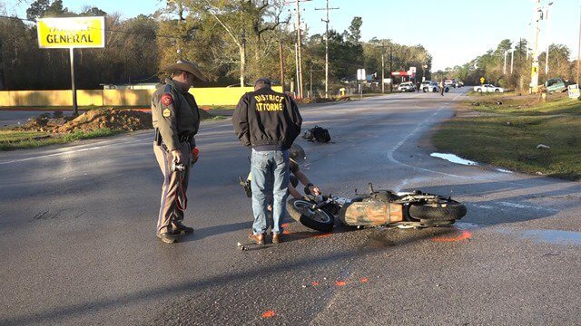 MOTORCYCLE DRIVER DIES IN EARLY MORNING HIT AND RUN