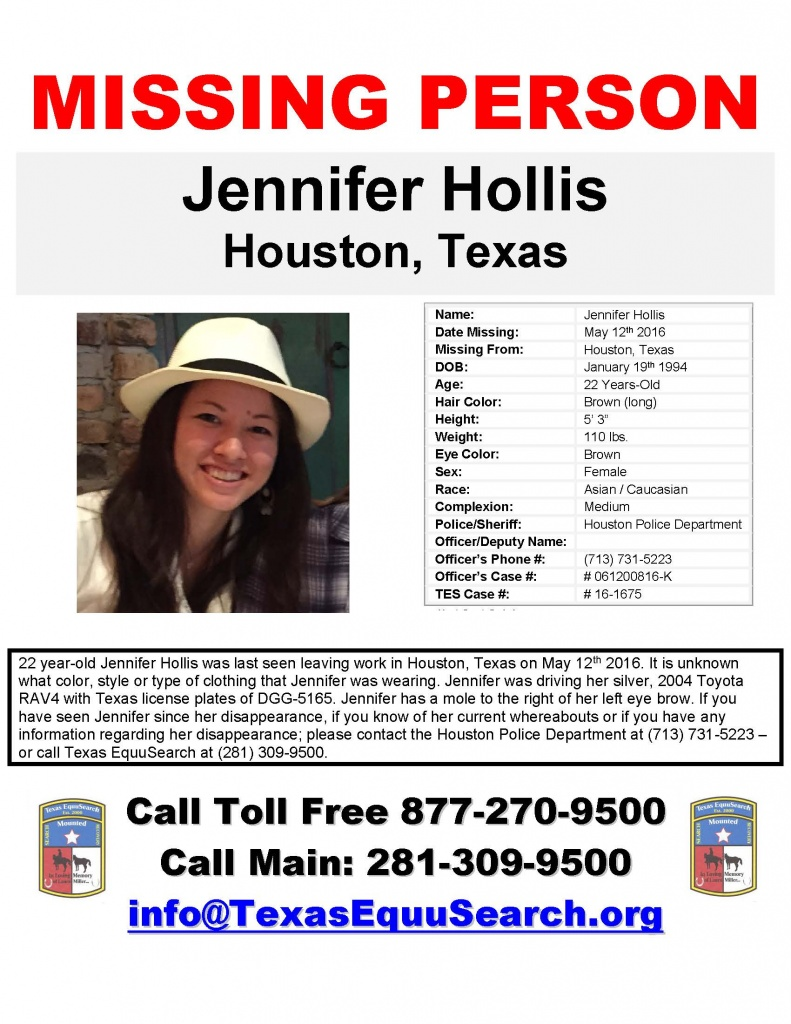 MISSING FROM HOUSTON