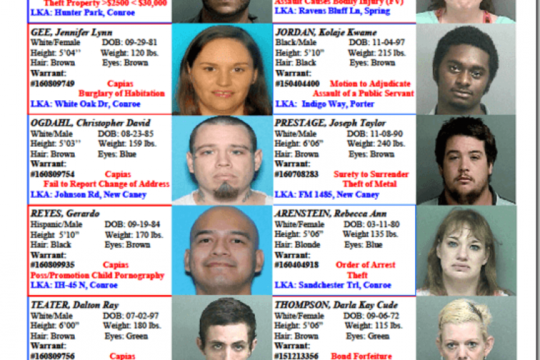 Crime Stoppers Featured Felons 09.02.16