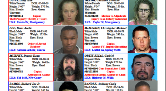 Crime Stoppers Featured Felons 1.27.17
