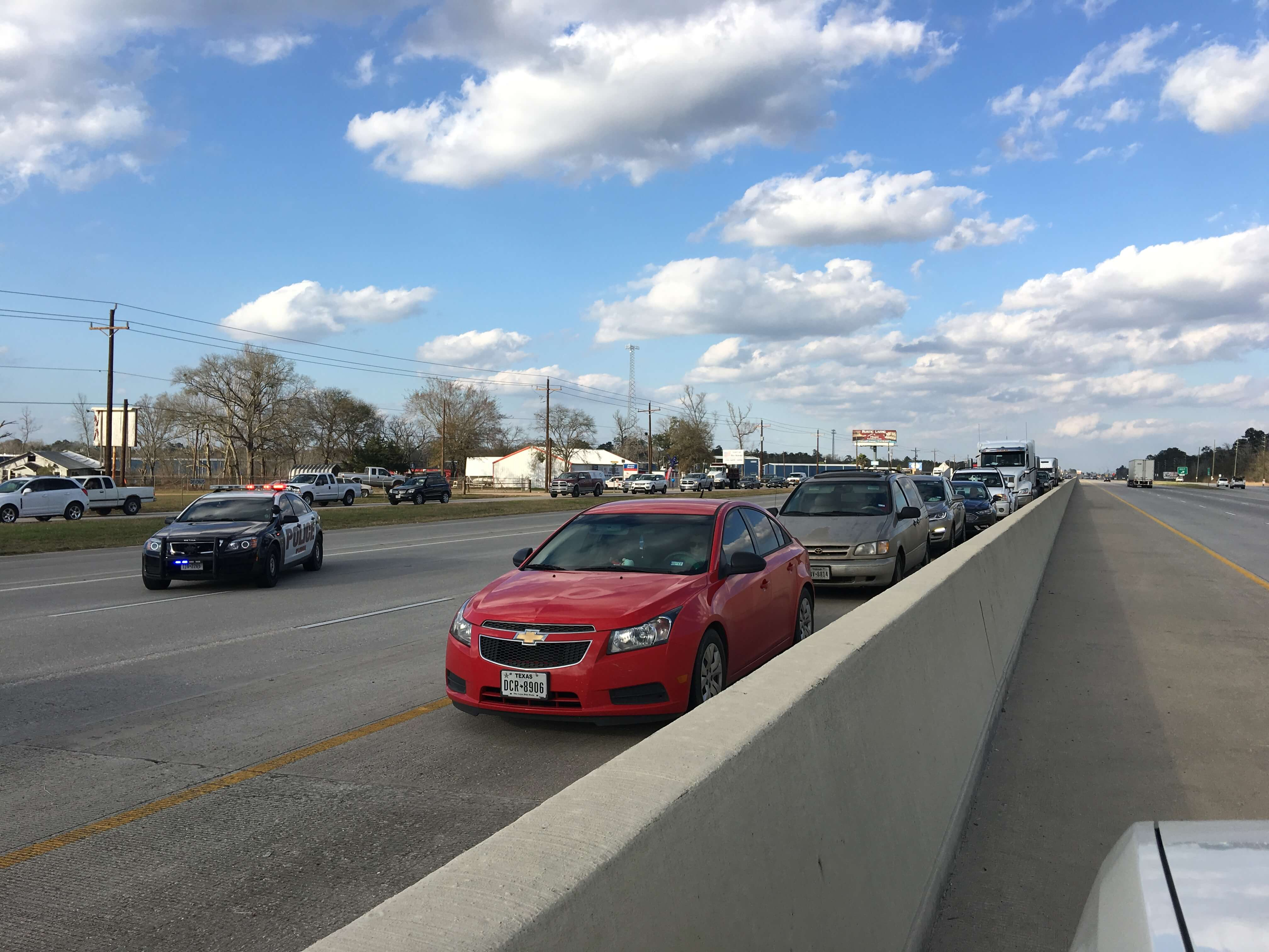 I-69 JUST REOPENED
