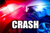 MAN CRITICAL IN SH 105 CRASH