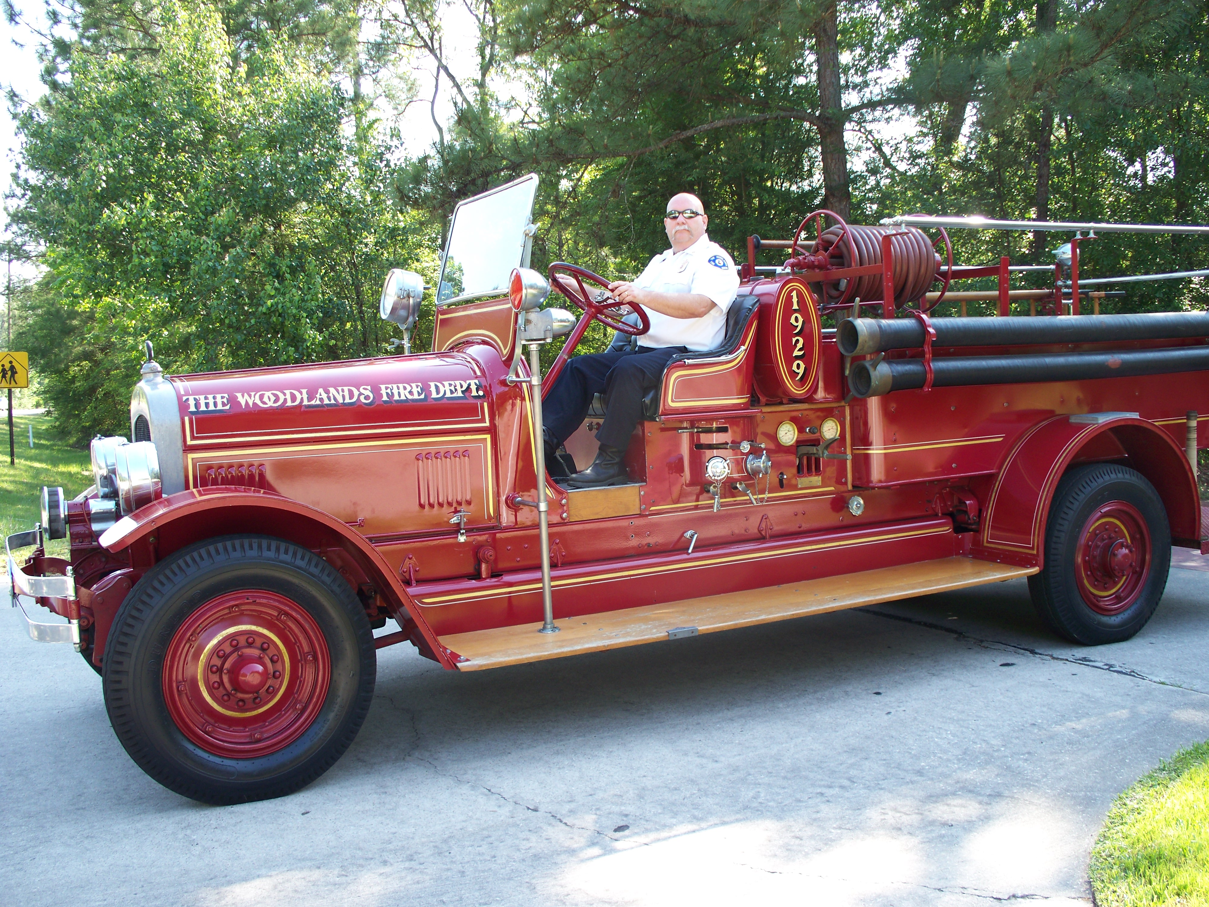 RETIRED WOODLANDS FIRE FIGHTER PASSES