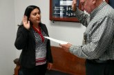 Sheriff Bobby Rader Swears In New Deputy