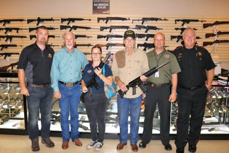 Pct. 4 AR-15 Raffle Winners Claim Prizes, One Winner Dies Days later