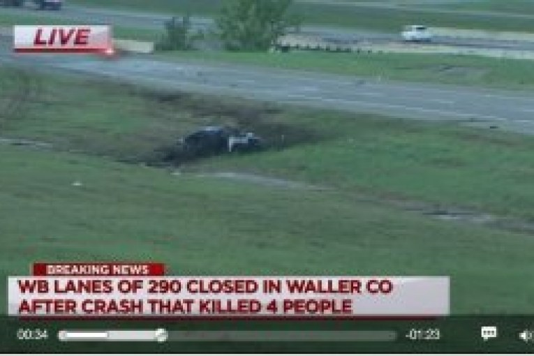 FOUR VICTIMS OF WALLER FATAL CRASH IDENTIFIED