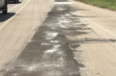 FUEL SPILL CLOSES LANES OF US 59
