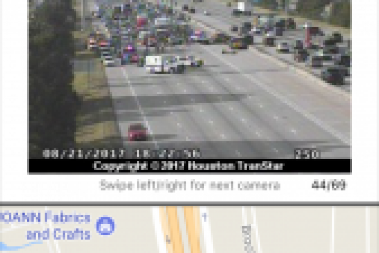 CRASH CLOSES I-45