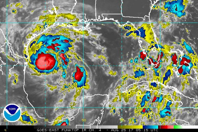 NWS: Most Recent Localized Hurricane Harvey Info-