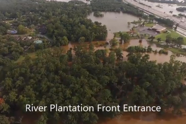 AN AWESOME VIDEO THROUGH A CANEY CREEK FIREFIGHTERS EYES DURING HARVEY