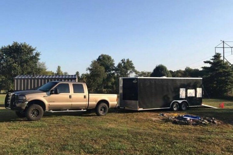 HURRICANE RELIEF VOLUNTEER'S TRUCK & TRAILER STOLEN – DO YOU HAVE INFO?