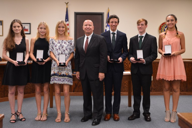 Congressman Brady Presents Congressional Medals to Local Youths